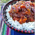 Chili sin carne (ou chili <b>végétarien</b>) express