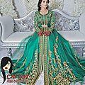 Caftan marocain haute couture 2014