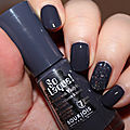 Review : Vernis So Laque Bleu Asphalte de <b>BOURJOIS</b>