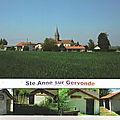 Les cartes postales de Sainte-Anne sur Gervonde