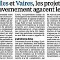 Chelles - Vaires sur Marne : Les projets gouvernementaux qui agacent !!