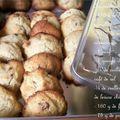 Cookies vanillés à la <b>pralinoise</b>!