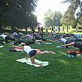 La parenthèse yoga vous propose une séance de yoga gratuite ce dimanche 21 août 2016 au Parc de la Citadelle à <b>Strasbourg</b>