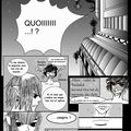 Travaux sur des croquis , mangaka amatrice :)