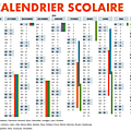 <b>Calendriers</b> scolaires 2015 -2016
