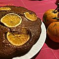 Gâteau chocolat <b>orange</b>