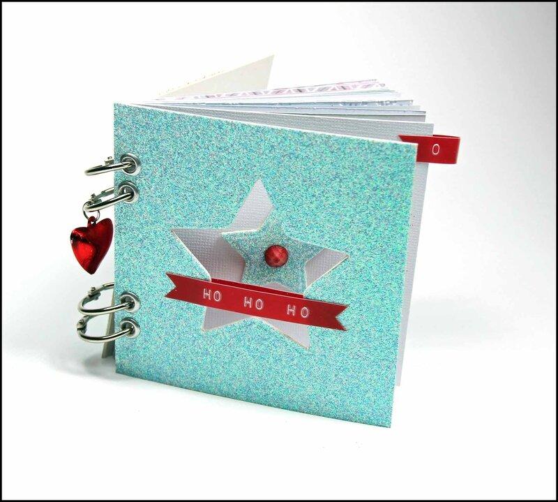 Journal de décembre Noel au pays des jouets - DT Tacha 4p