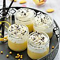 Petits pots de crème à l'<b>orange</b>