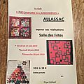 L'exposition d'Allasac