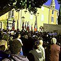 Reportage: 2 octobre 2014 à Saint Saturnin-lès-Apt, 70ème anniversaire de la Résistance, des débarquements, de la libération...
