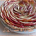 Tarte aux pommes à la crème de châtaignes & noisettes