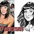 Animation <b>caricature</b> en Rhône-Alpes - <b>caricatures</b> de vos invités en direct devant modèle vivant