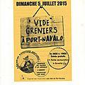 LE <b>VIDE</b> <b>GRENIERS</b> DE L'ASSOCIATION DES AMIS DE PORT NAVALO