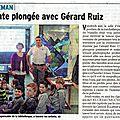 Dernier <b>article</b> du Dauphiné Libéré du 03 mars