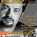 Dan Inger en trio fado blues au <b>SUNSET</b> Paris jazz club