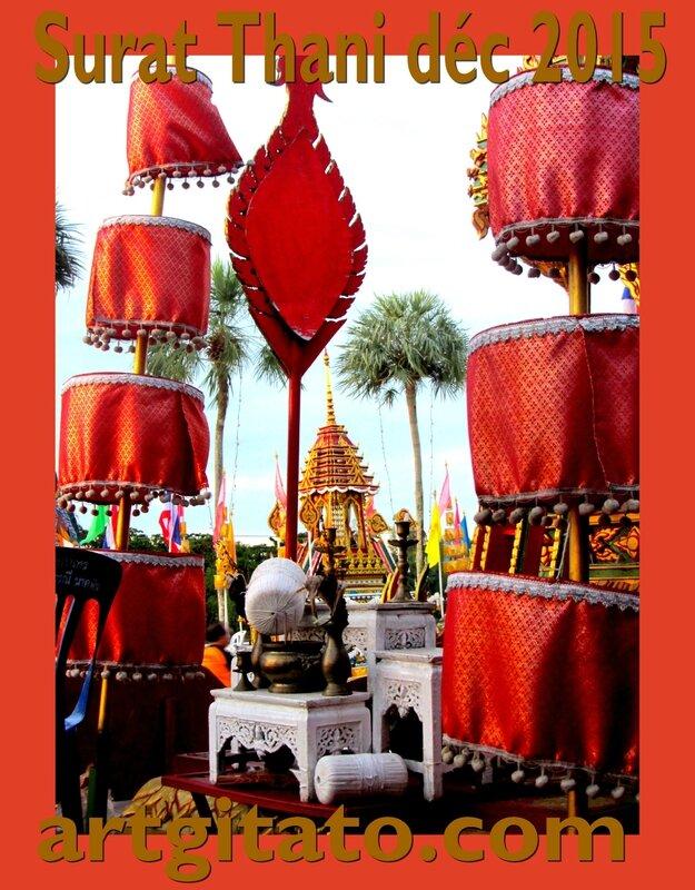 Surat Thani Thailande Artgitato Char déc 2015 5