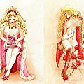 Mademoiselle's dream drawings