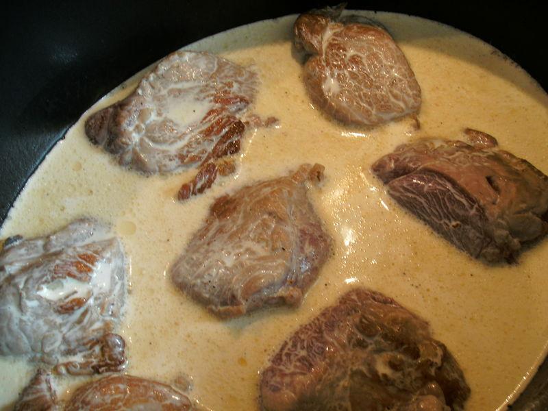 Filet mignon de porc flamb au cognac blog cuisine avec - Cuisiner un filet mignon de porc en cocotte ...