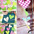  Guirlande Curs en Papier / DIY Paper Heart Garland    