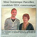 Dominique Parcellier, Justin Giraud candidats TetG n°2