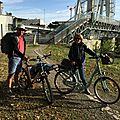 Canal de Nantes à Brest à vélo 2015 par Odile et Alain