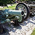 Canons survivants de la Grande Guerre / WW1 surviving guns