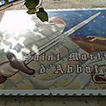 Les <b>boîtes</b> aux <b>lettres</b> de Saint Martin d'Abbat