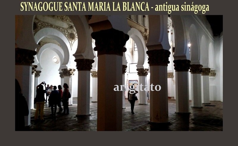Toledo Santa Maria la Blanca Antigua Sinagoga Synagogue Antique Artgitato30