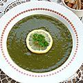 Soupe de blettes et de lentilles vertes du Puy {recette}