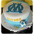 Gâteau <b>OM</b>