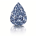 The largest flawless vivid <b>blue</b> diamond in the world leads Christie's Geneva Magnificent Jewels Sale