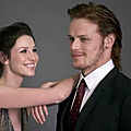 Behind the scenes du photoshoot de Sam et Caitriona pour Outlander