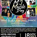 MJ <b>Music</b> Day avec Brad Buxer et Michael Prince, le 18 novembre 2017 à Lille (France)