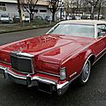 Lincoln <b>Continental</b> Mark IV hardtop coupe-1973