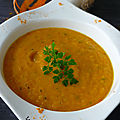 SOUPE <b>Carottes</b> Noix de Coco