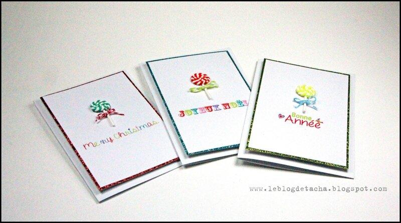 cartes Noel au pays des jouets - DT Tacha 2p