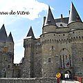 [Bretagne] le château de <b>Vitré</b>