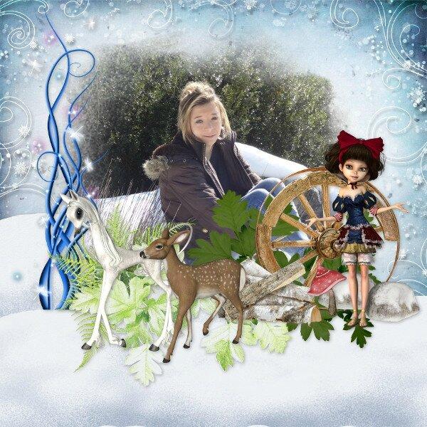 LouiseL - Snow white - photo Caroline