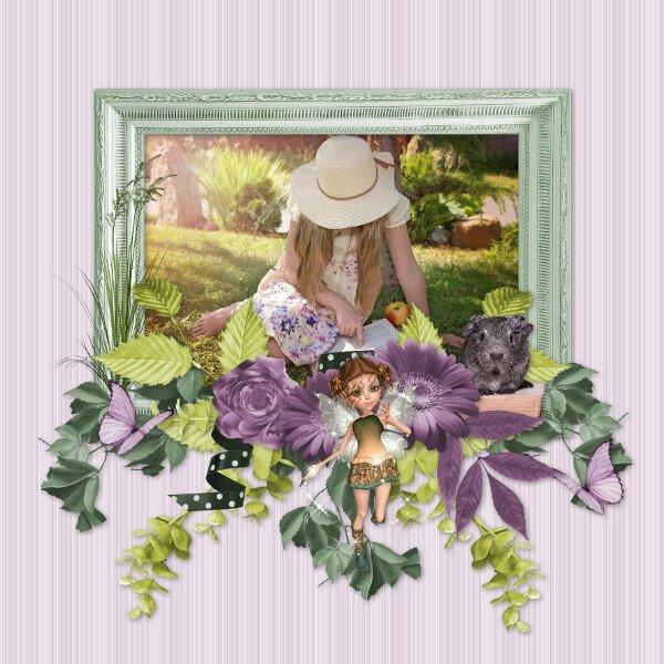 Flomelle - fairy's world - page de Flomelle