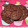 Biscuits moelleux au chocolat