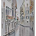 Venise, sur les canaux
