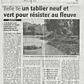 Les berges de l'Hérault côté <b>Parc</b> Belle Île ...