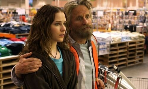 Evan Rachel Wood & Michael Douglas