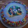 Miska Moska Mickey Mouse (Carrot <b>cake</b> Mickey)
