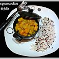 Curry de <b>poisson</b> en cocotte