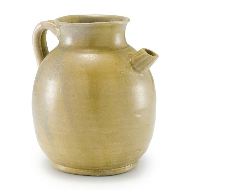 A Yue celadon ewer, Five Dynasties – Northern Song dynasty