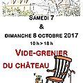 Vide-grenier du <b>château</b> de Lanquais