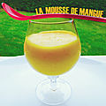 <b>Verrine</b> mousse de mangue
