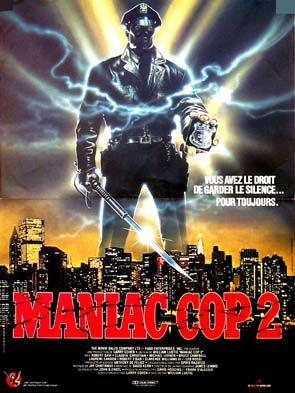 Maniac Cop 2 affiche