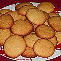 Biscuits au miel.